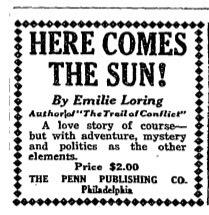 1924 Here Comes the Sun wpr