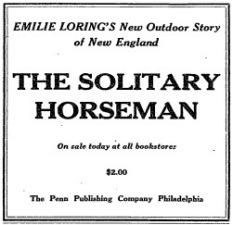 1927 Solitary Horseman