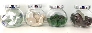 sea glass jars wpr