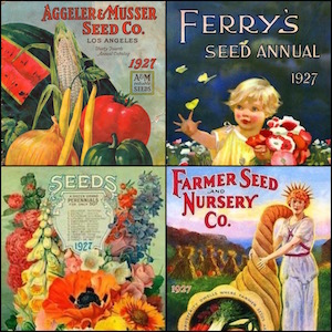 seed catalogs 1927 sq wpr
