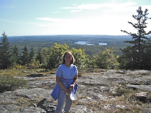 Patti on Blue Hill wpr