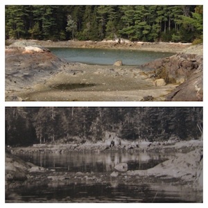 2014 (top), ca. 1910 (bottom)