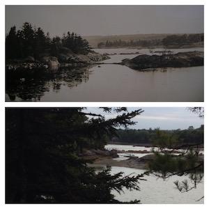 ca. 1910 (top), 2014 (bottom)