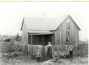 First house in Seattle, 1901