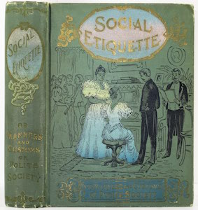 Social Etiquette 1896