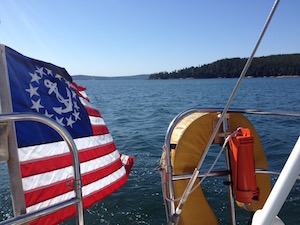 US Yachting ensign