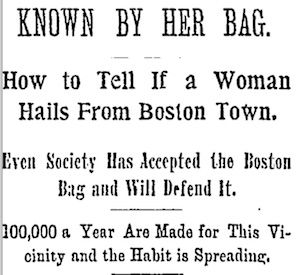 Boston Bag headline