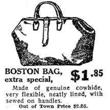 NYT Boston bag advert