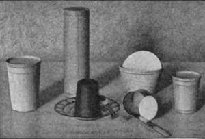 Paper preserve cups