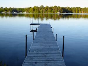Wisconsin lake vacation