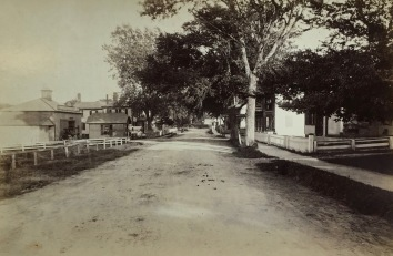 Looking east on Main Street 1889