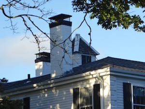 Black-banded chimneys of Cape Cod