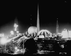 1939 World's Fair Grounds at Night
