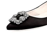 black-satin-slipper