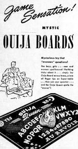 Ouija board 1944
