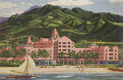 Royal Hawaiian Hotel 1940s