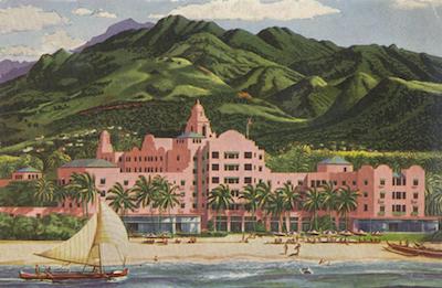Royal Hawaiian Hotel 1940s