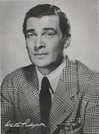 Walter Pidgeon portrait