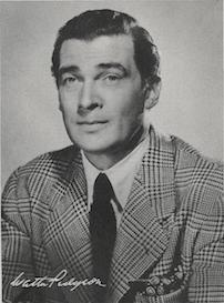 Walter Pidgeon portrait