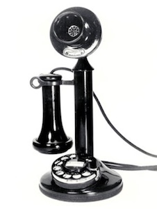 1920s telephone receiver