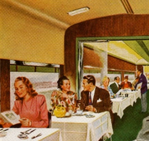 dining on the train