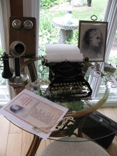 Emilie's desk