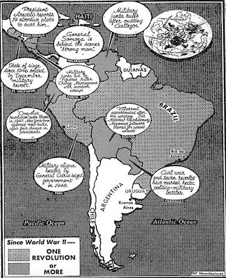 Latin revolts, Washington Post 12June 1949