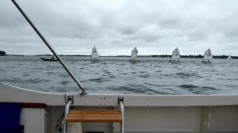 sailboats in trouble