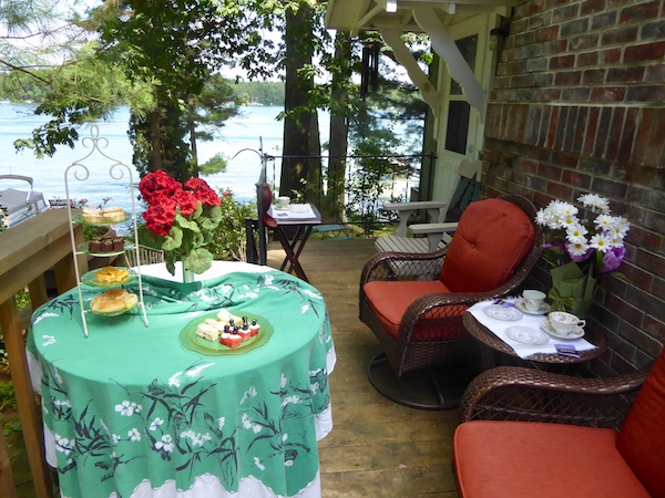 Tea by the lake