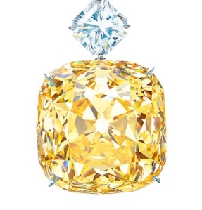 Tiffany's yellow diamond