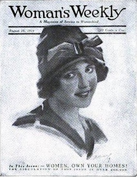 Cover Woman's Weekly 1919