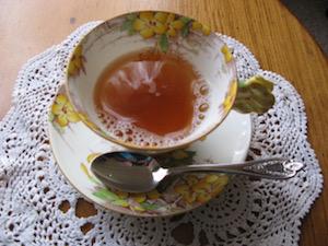 Ellen's tea cup