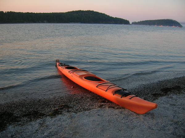 Kayak in Bar Harbor