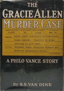 Philo Vance, Gracie Allen