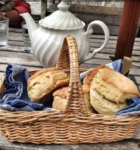 Scone basket