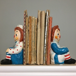 Raggedy Ann bookends