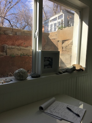 sunshine at the window