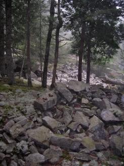 Emilie Loring's quarry