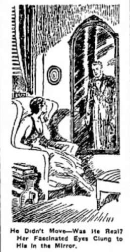 1934 sees him in the mirror