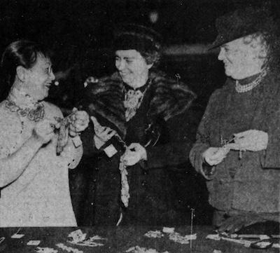 Mme Lin Yutang, Dorothy Walker, Emilie Loring