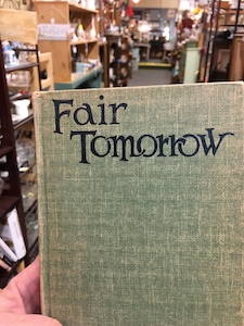 used copy of Fair Tomorrow