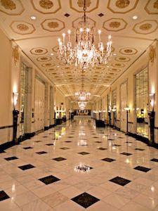 Mayflower Hotel polished interior