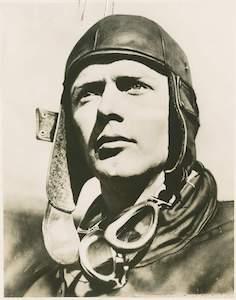 Smithsonian portrait Lindbergh