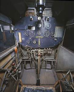 Smithsonian St Louis cockpit