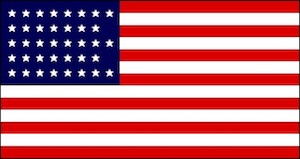 38-star US flag