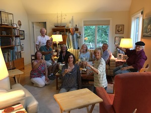 A toast to Emilie Loring!