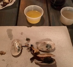 My first steamers