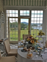 Tea at Arcady, Blue Hill