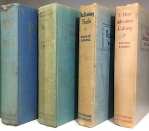 faded Emilie Loring books