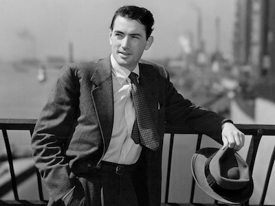 gregory peck in a suit